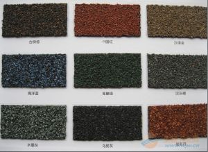 Style One Colourful Asphalt Shingle pictures & photos