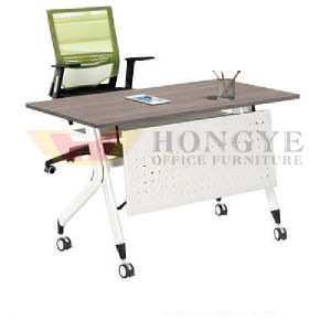 Wholesale Modern Folding Office Meeting Training Table with Wheels pictures & photos