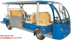 Eg6158t 14 Seaters Electric Shuttle Bus for Handicapped pictures & photos