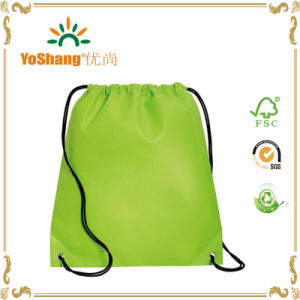 Customized Material and Printing Drawstring Backpack Bag Promotion Bag pictures & photos