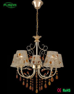 2016 New Design Die Casting Copper Glass Type Chandelier Lamp Crystal Lighting pictures & photos
