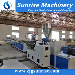 PVC Wire Cable Trunking Profile Making Machine pictures & photos