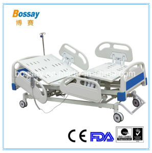 Paralysis Patient Bed Electric Used Hospital Bed with 5 Functions pictures & photos