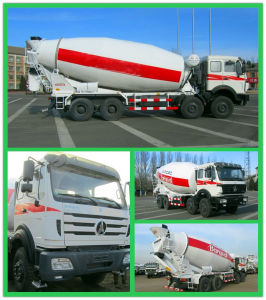 Beiben 8X4 280HP Concrete Mixer Truck pictures & photos