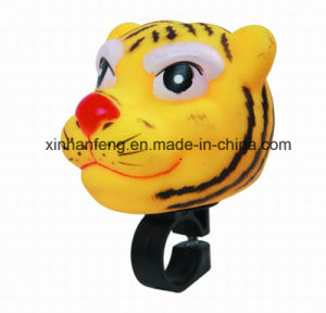 Bicycle PVC Cartoon Tiger Horn (HEL-148) pictures & photos