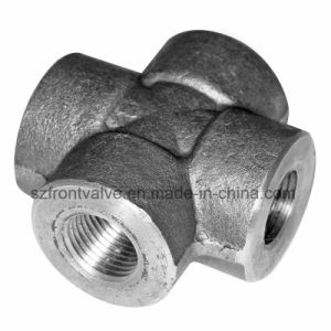 Forged Steel High Pressure Threaded/Socket Weld Cross pictures & photos