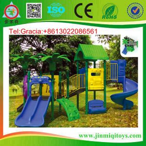 Kids Plastic Amusement, Children Playground Garden Slide, Kids Center Playground Jmq-K090f (JMQ-P039A)