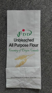 2 Layers Kraft Paper Bag for Flour Packaging/ Wheat Flour Bag pictures & photos