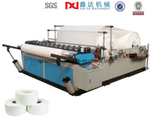 Automatic Jumbo Roll Rewinding Slitting Paper Machine pictures & photos