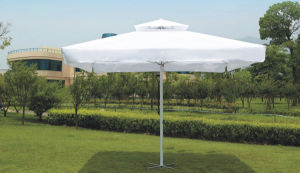 4 X4m Hand Push up Umbrella with Double Roof