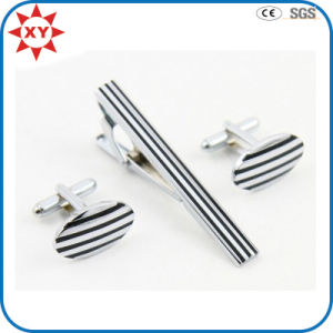Factory Direct Sell Wholesale Cufflinks with Tie Clip pictures & photos
