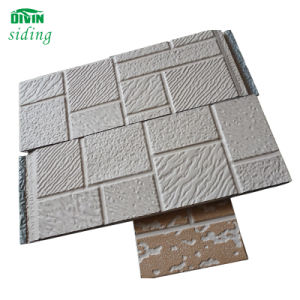 Steel External Decorative Polyurethane Facade Wall Siding Panel (16/50cm) pictures & photos