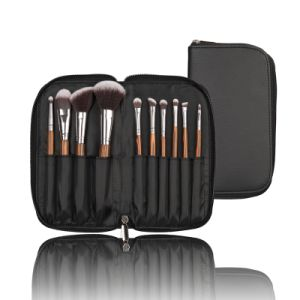 10PCS Synthetic Hair Makeup Brush with Special Color Handle pictures & photos