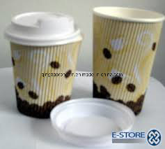 Single Side PE Coated Hot Drinking Cup Paper pictures & photos