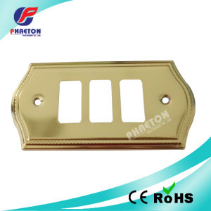 Electronic Metal Wall Switch Face Plate pictures & photos