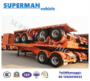 Superlink Cargo Drawbar Full Dolly Truck Semi Trailer pictures & photos