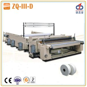 Jumbo Roll Tissue Slitting Machine (ZQ-III-D) pictures & photos