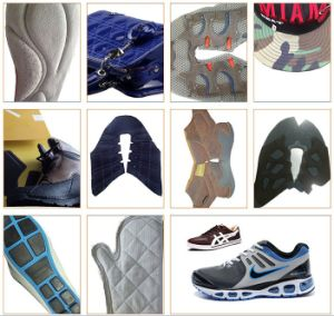Single Needle Shoes Making Sewin Pattern Template Sewing Embrodiery Machine pictures & photos