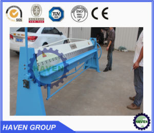 WH06-2.0X2540 Hand Type Steel Plate Bending and Folding Machine pictures & photos