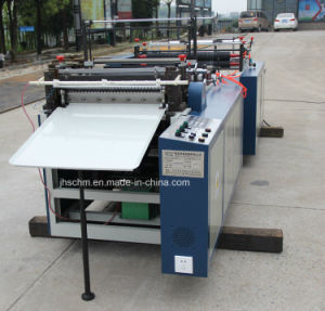 PVC Pet Roll Heat Pressing Transverse Computer Cutter Machine pictures & photos
