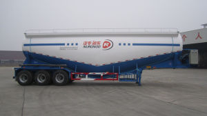 40cbm Low Density Bulk Powder Material Transport Tank Semi Trailer