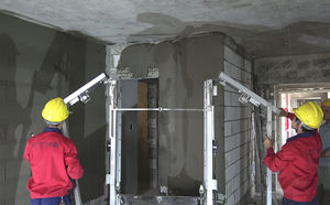 Concrete Pump/Construction Wall Plastering Machine pictures & photos