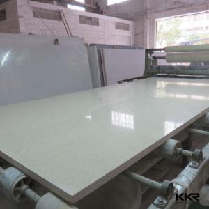 Kingkonree White Mirror Engineered Quartz Stone Slab pictures & photos