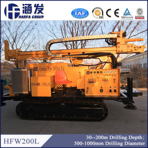 200m Deep Well Drilling Rig, Hfw200L Hydraulic Underground Pile Driver pictures & photos