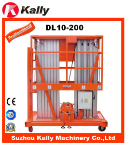 6m-14m Aluminum Alloy Elevator Material Vertical Lift for Sale (DL10-200)