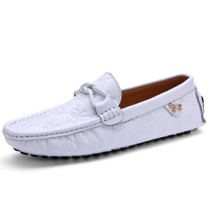 Leather Shoes Fashion Driving Casual Flat Footwear for Men (AK1015GK-1) pictures & photos