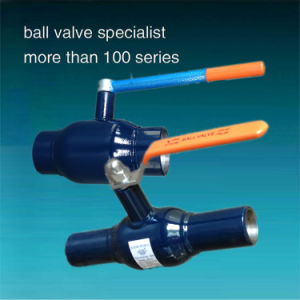 GOST Full Welded Gas Ball Valve Pn40 pictures & photos