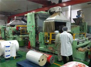 Second Hand Plastic Laminating Extrusion Machine with Air-Cooling Line Price pictures & photos