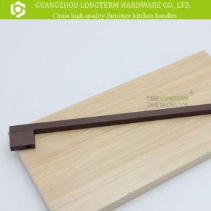 Classical Long Aluminium Oil Black Furniture Kitchen Handle pictures & photos