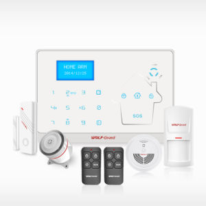 New! ! ! China Battery Operated Wireless Security Alarm with Low Power Alarm pictures & photos