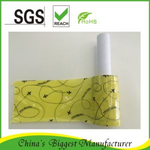 Small Packing Film Mini Stretch Wrap with Paper Handle Plastic Handle pictures & photos