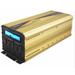 Power Inverter 2000W DC12V/24V Pure Sine Wave with UPS Charger pictures & photos