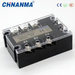 80AMP AC90-250V, 440V SSR Three Phase 12V Solid State Relay pictures & photos