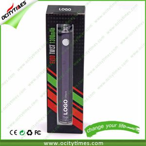 Ocitytimes Label Custom Free High Quality Colorful Evod Battery pictures & photos
