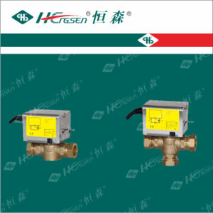 Df-03 Detach Motorized/Motorised Valve/ Spring Reture/Zone Valve for Central Heating pictures & photos