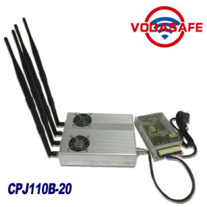 New Product, Desktop Type Jammer Model with Remote Control, 4G Jammer Block Mobile Cell Phone CDMA GSM GPS 3G WiFi Lojack pictures & photos
