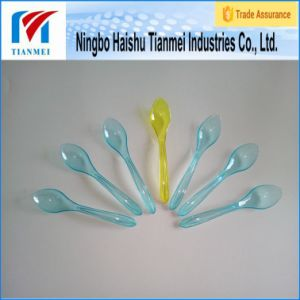 Disposable Ice Cream Mini Spoon / Plastic Spoon pictures & photos