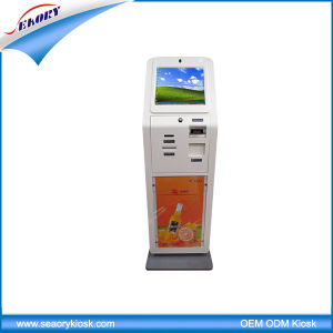 17′′ LCD Touch Screen Kiosk with Cash Acceptor pictures & photos