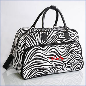 Fashion Lady Travelling Bag with Zebra Printing pictures & photos