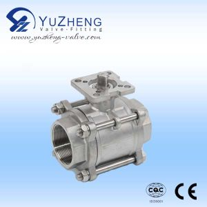 3PC Stainless Steel Butt-Welded Ball Valve pictures & photos