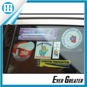 Custom Double Side Pinring Available Removable Static Cling Sticker Window Film for Car pictures & photos