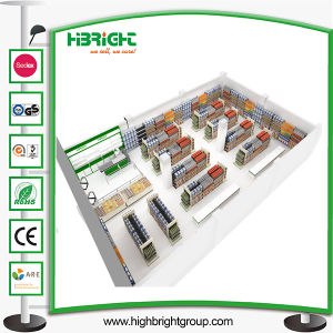 Supermarket Equipment Metal Supermarket Shelf pictures & photos