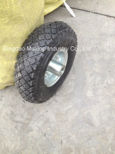 350-8 Pneumatic Rubber Wheel for Portugal Market and Europe Market pictures & photos