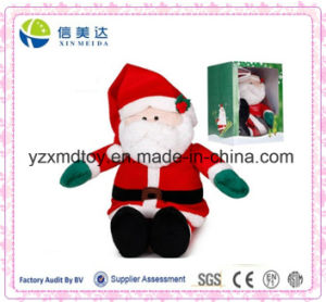 SGS Battery Operated Musical Santa Claus Christmas Toy for Kids pictures & photos