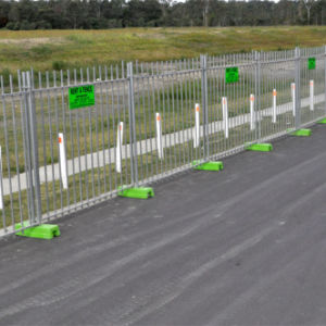 Exporting Galvanized Temporary Fence / Removable Fence pictures & photos