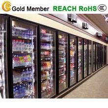 Reach in Glass Half Swing Door Refrigerator